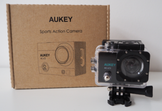 Header Bild der Aukey Sports Action Cam